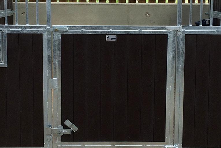 swinging door for internal stables
