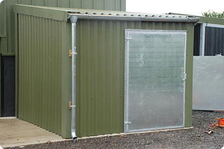 Secure Storage Shed