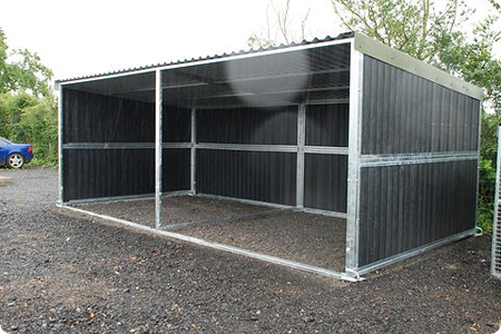 Mobile Hay Shed