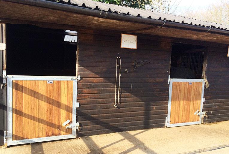 Internal stable doors