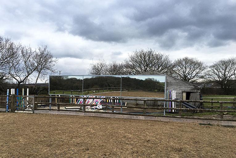 Arena Mirror Stands