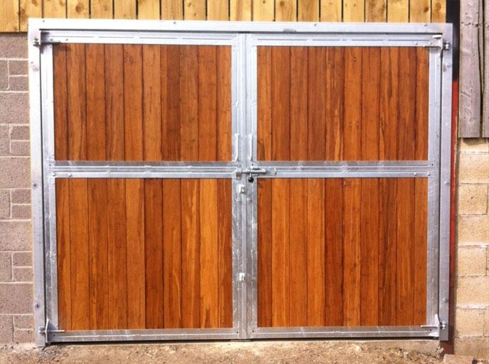 Swinging Barn Doors