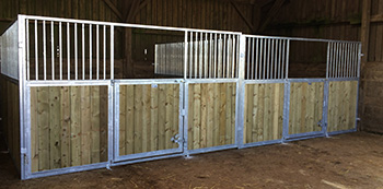 softwood stable boarding 1