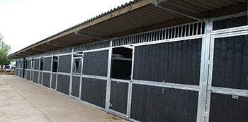 Recycled Plastic Stable Boarding 1