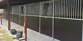 Plywood Stable Boarding