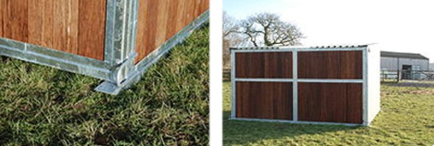 Affordable mobile field shelters